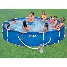 Piscina fuori terra Frame Intex 28212 rotonda cm 366x76 con pompa filtro - Rotex