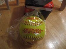 Rawlings .47 Cor Yellow Cover Softball Ol11Y47S 5 new