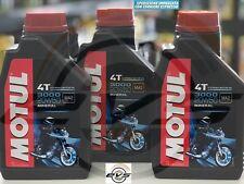 3 Litri Olio Motore Moto MOTUL 3000 20W50 Minerale API SL/SG/SH/SJ  MA2 Harley D