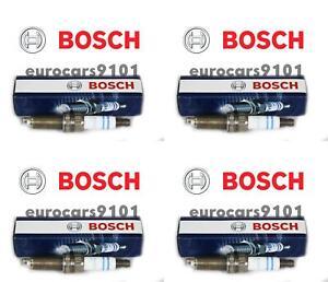 Mini Cooper Bosch Spark Plugs ZQR8SI302 12120035933 Set of 4
