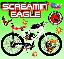 New 2-Stroke 66cc/80cc Motorized Bike Kit And 26� Power Bicycle Diy + Free Bonus