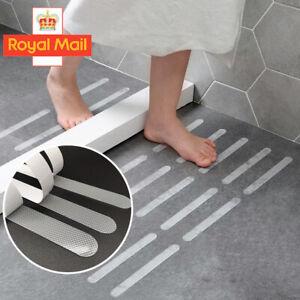 12x Anti Slip Bath Grip Stickers Non Slip Shower Strips Pad Floor Safety Tape UK