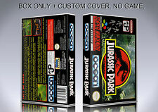 JURASSIC PARK. PAL VERSION. Box/Case. Super Nintendo. BOX + COVER. (NO GAME)