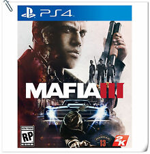 PS4 Mafia III English & Chinese [R3] 四海兄弟 中英文版 SONY PLAYSTATION 2K Action Games