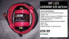 DRX111 Livewire 5/8 Wave 10/11m Portable Antenna System