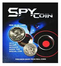 Spy Coin - Real Kennedy Half Dollar is hollow - Covert Hidden Compartment Safe