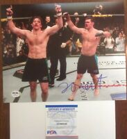Forrest Griffin PSA Authenticated Hand Signed 8x10 Photo UFC HOF Champion
