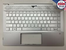 NEW HP Pavilion x360 14-cd 14m-cd0001dx Palmrest Keyboard NON-Backlit L22408-001
