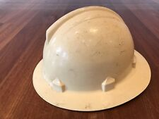 Vintage Fireman Rescue Miners Hard Hat Collectable