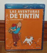 TINTIN - VOLUMEN 6º - COMBO BLU-RAY+DVD - 3 AVENTURAS - NUEVO - PRECINTADO