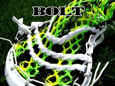 Lacrosse Money Mesh Bolt Funky Neon Green Neon Yellow & Black, RETIRED hard2find