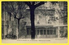cpa RARE 33 - BORDEAUX (Gironde) FOYER SAINT BRUNO 34 rue Belleville Côté Jardin