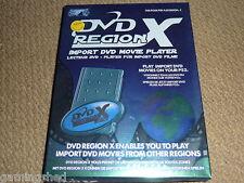 PLAYSTATION 2 PS2 DVD Region X LETTORE DVD Film D'IMPORTAZIONE + Scheda di Memoria Nuovo di zecca!