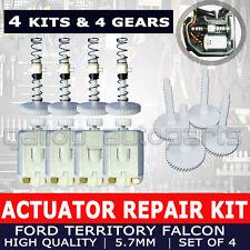 4 Kits Door Lock Actuator Repair & 4 Pcs Cog Gear Ford Falcon BA BF AU Territory