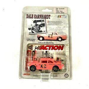 Dale Earnhardt Sr K-2 Pink 1956 Ford Victoria 1:64 Scale NASCAR Action Race Car