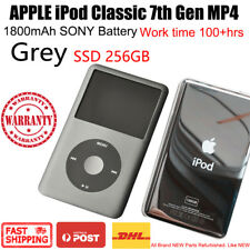 APPLE iPod Classic 7th Gen 256GB SSD MP4 1800mAh 100hrs New Battery WARRANTY
