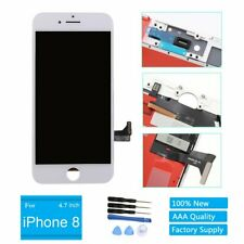 White Display LCD Screen Touch Screen Digitizer Frame Replacement for Iphone 8