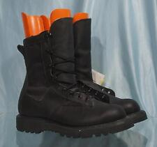 New Black Leather and Fabric BELLEVILLE GICS Infantry Combat Boots Sz 6.0 W