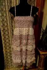 VINTAGE  ~ JEANSWEST ~  Sun DRESS * Size 12/14 *