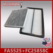 FA5525 FC25858C(CARBON) OEM QUALITY ENGINE & CABIN AIR FILTER: 2007-2012 CX-7