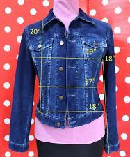 PHARD size S jacket CORDUROY jean cotton women ITALY