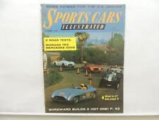 Nov 1956 Sports Cars Illustrated Magazine Mercedes 220S Morgan TR3 Sunbeam L9024