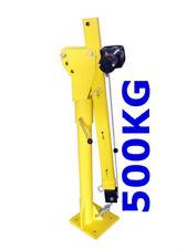 Ladekran Hebekran 500 KG + elektrische Seilwinde PickUp