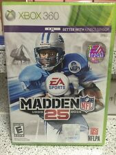 Brand New!!! Madden NFL 25 (Xbox 360, 2013) Factory Sealed!!!