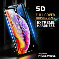 For Apple iPhone 8 Plus - 5D Curved Edge To Edge Tempered Glass Screen Protector