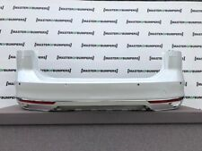 VW PASSAT R LINE TFSI ESTATE ONLY 2015-2018 REAR BUMPER IN WHITE GENUINE [V561]