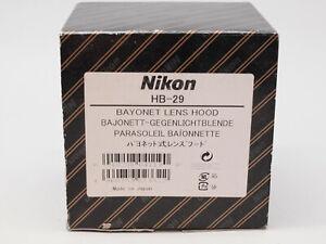 Nikon genuine bayonet hood HB-29