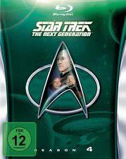 STAR TREK: THE NEXT GENERATION, Season 4 (6 Blu-ray Discs) NEU+OVP