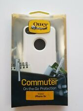OTTERBOX COMMUTER CASE FOR APPLE IPHONE 5C WHITE 77-33402 drop dust protection