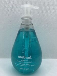 Method Waterfall Scent-Naturally Derived Gel Hand Wash Soap 12 oz-Ships Free