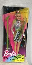 2017 Barbie and the Rockers Keytar doll NRFB