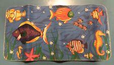 Con-Tact Non Slip Rubber Tub Mat Sea Fish underwater ocean fishes kid bath decor