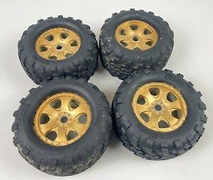 HPI Racing Savage 1/8 Wheel & Tyre Set 17mm Hex