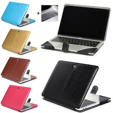 "Leather Laptop Sleeve Bag Case Cover for MacBook 12"" 11"" 13"" 15"" Air Pro Retina"