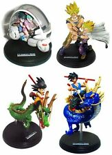 Dragon Ball Z Fantastic Arts Complete Set of 4 Vintage Figure Goku Bulma