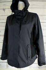 Women's Snozu Performance Jacket Coat w/hood very warm Navy blue Black, Sz M