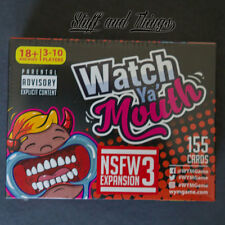 *Genuine* Watch Ya' Mouth Expansion Pack - NSFW #3 - Party Game Expansion
