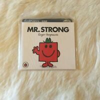 NEW and SEALED MR. STRONG by Roger Hargreaves Happy Meal MR MEN Collectable