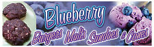 "18""x60"" - Blueberry - Concession Banner"