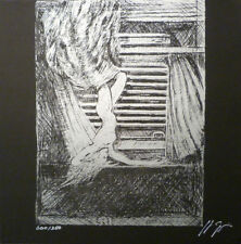 GIGER signed 'Species' zinc plate lithograph MINT