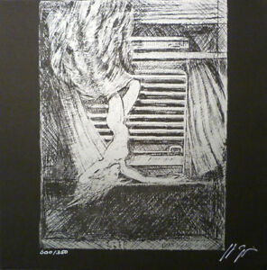 GIGER signed 'Species' zinc plate lithograph NEW/MINT