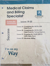 Medical Claims and Billing Specialist Lesson 19 - 22