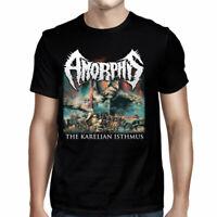 AMORPHIS Karelian Isthmus T SHIRT M-L-XL-2XL Brand New Official JSR Merchandise
