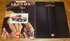 Original 1993 1994 GMC Sonoma Truck Sales Brochure Lot of 2 93 94