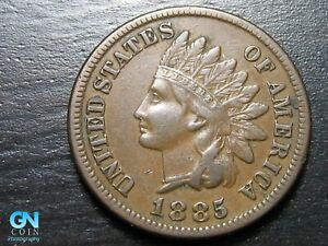 1885 Indian Head Cent Penny  --  MAKE US AN OFFER!  #K2221