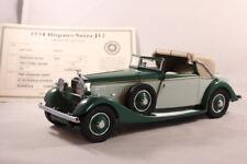 DANBURY MINT 1934 HISPANO-SUIZA J12 CAR GREEN RARE DIE-CAST 1:24